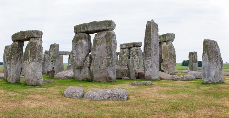 Stonehenge, plaines de Salisbury, Angleterre centrale photos libres de droits