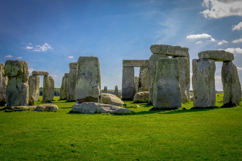 Stonehenge in England royalty free stock photos