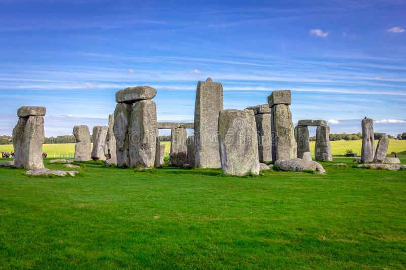 Stonehenge in England royalty free stock photography