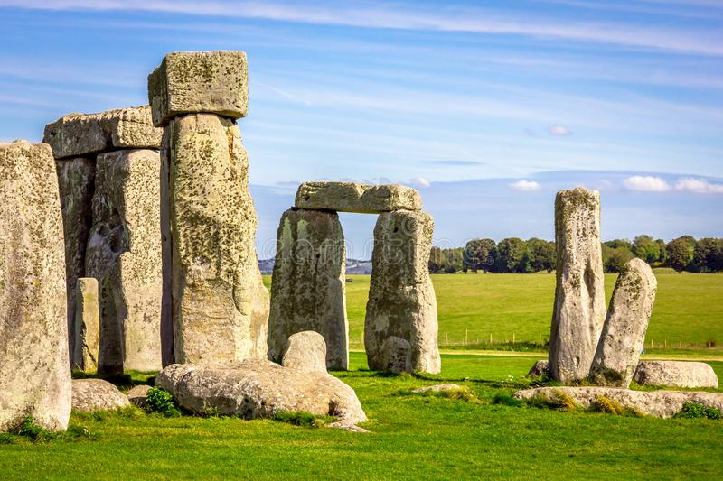 Stonehenge in England stock images