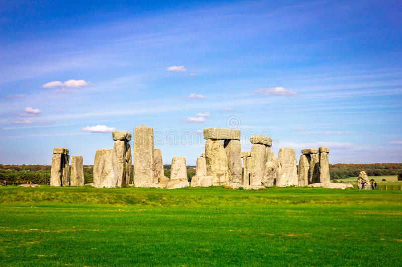Stonehenge in England royalty free stock image
