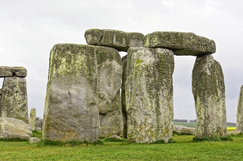 Stonehenge Regno Unito. fotografia stock libera da diritti