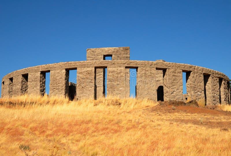 Stonehenge Replica Royalty Free Stock Photo