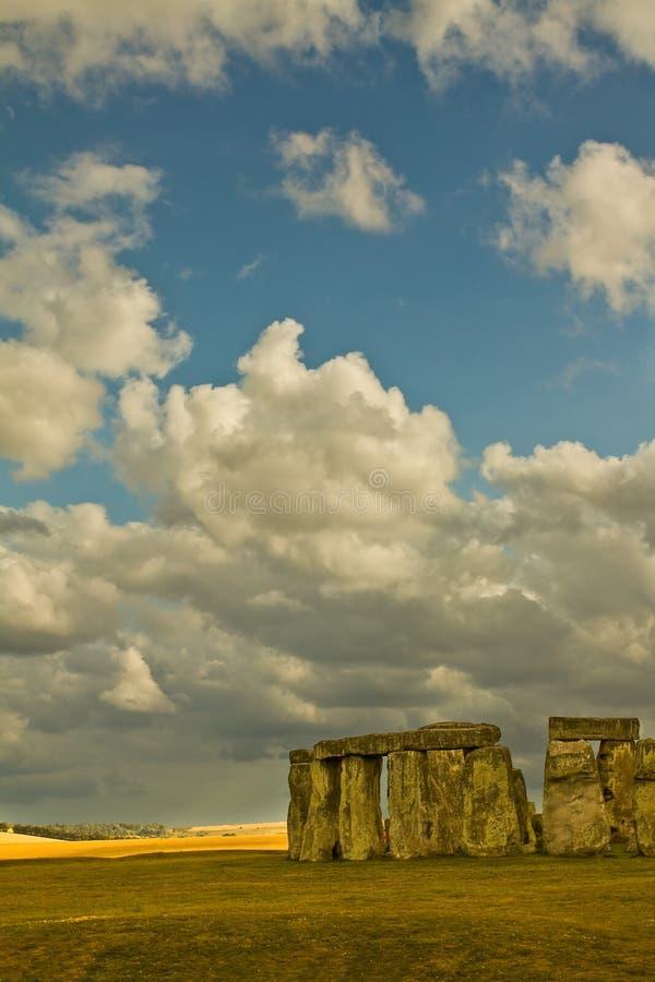 Stonehenge ruins stock photo