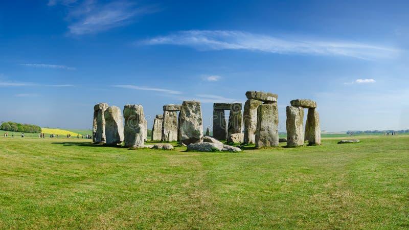 Stonehenge Salisbury, England royaltyfria foton