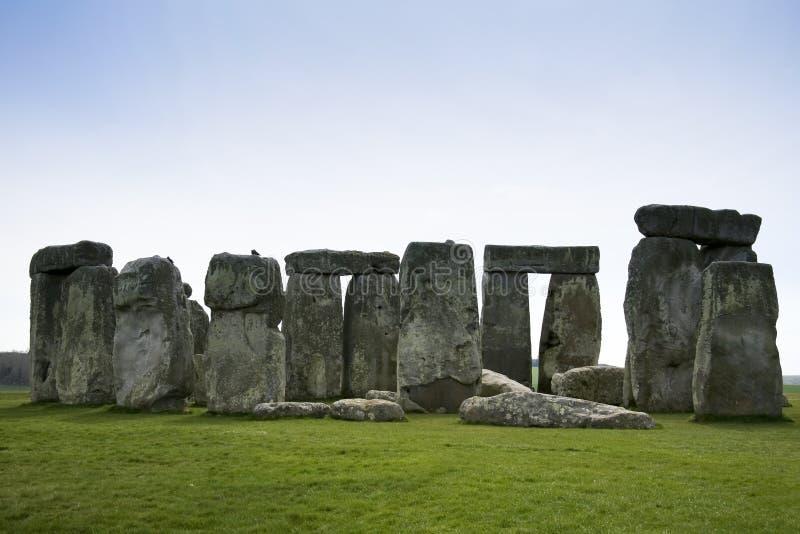 Stonehenge Standing Stones Wiltshire England Stock Image