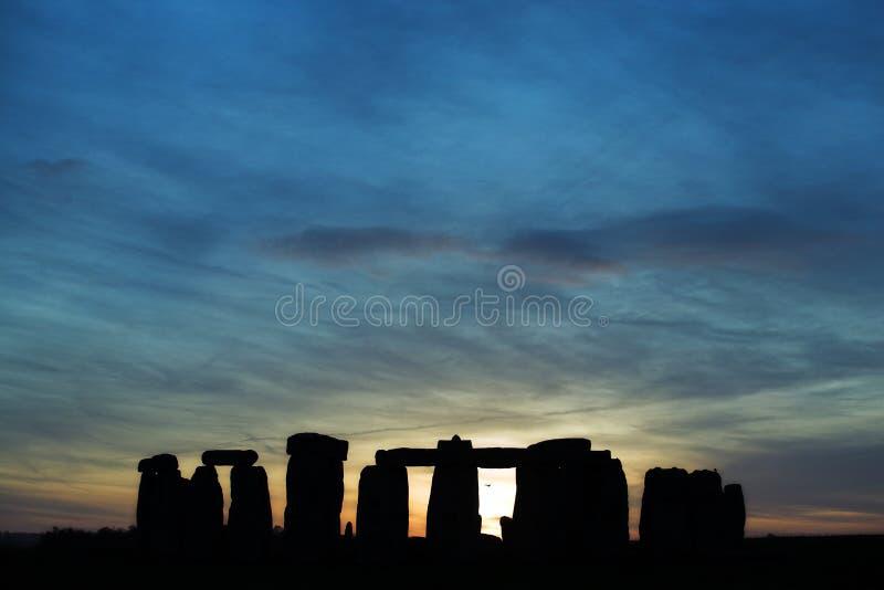 Download Stonehenge at sunset stock image. Image of england, archeology - 4137311