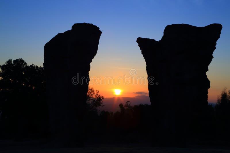 Stonehenge Tajlandia zdjęcie royalty free