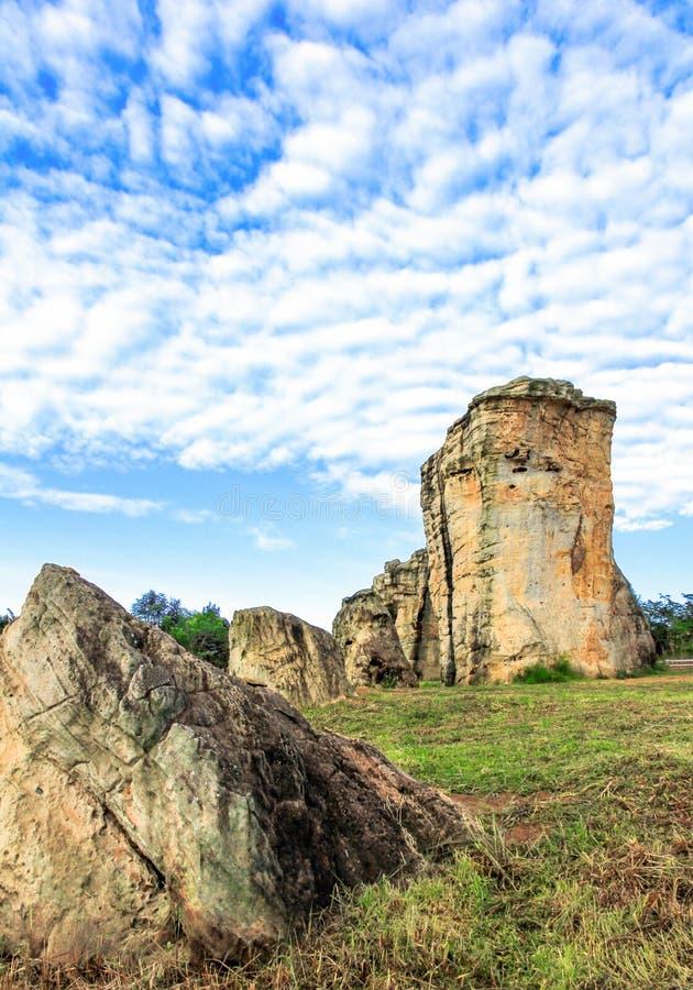 Stonehenge of Thailand, Mo Hin Khao at Chaiyaphum, Thailand. Stonehenge of Thailand, Mo Hin Khao at Chaiyaphum province, Thailand stock photography
