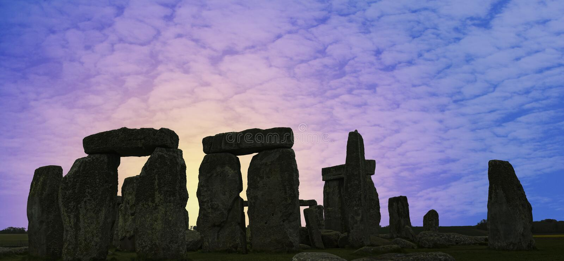 Stonehenge U.K. Picture of Stonehenge found in U.K stock photography