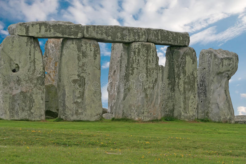 Download Stonehenge Under A Blue Sky, England Royalty Free Stock Image - Image: 21208056