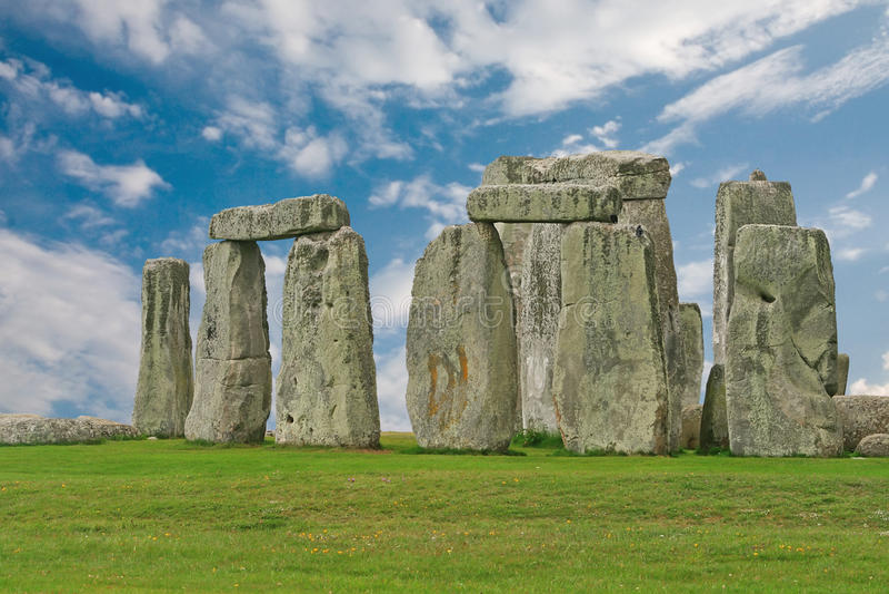 Download Stonehenge Under A Blue Sky, England Stock Image - Image: 21208121