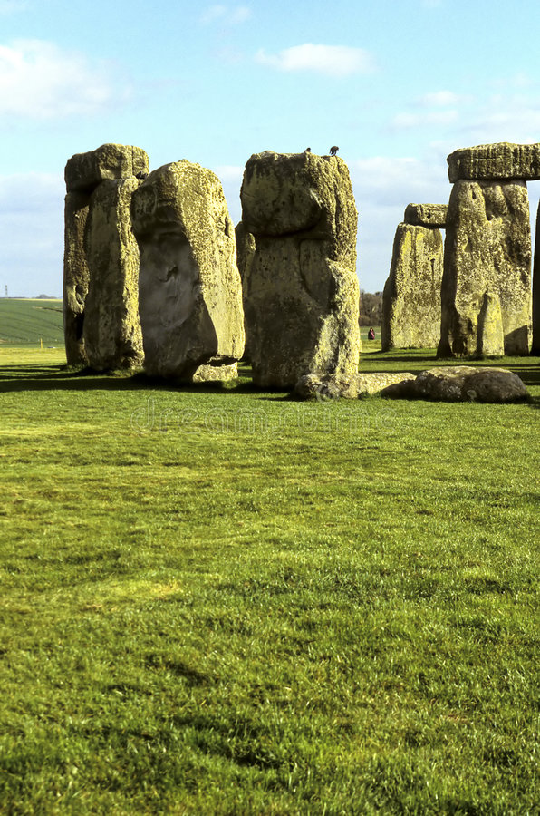 Stonehenge- United Kingdom stock photos