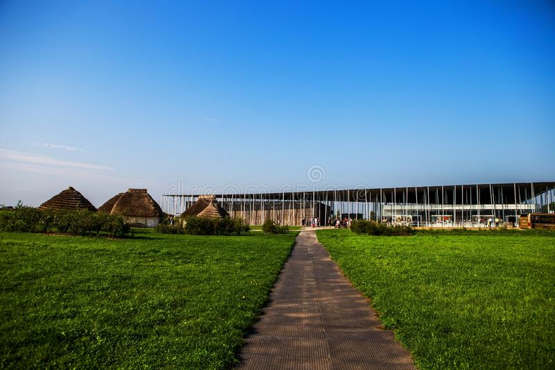 Download Stonehenge Visitors` Center Editorial Photography - Image of mystery, heritage: 105329207