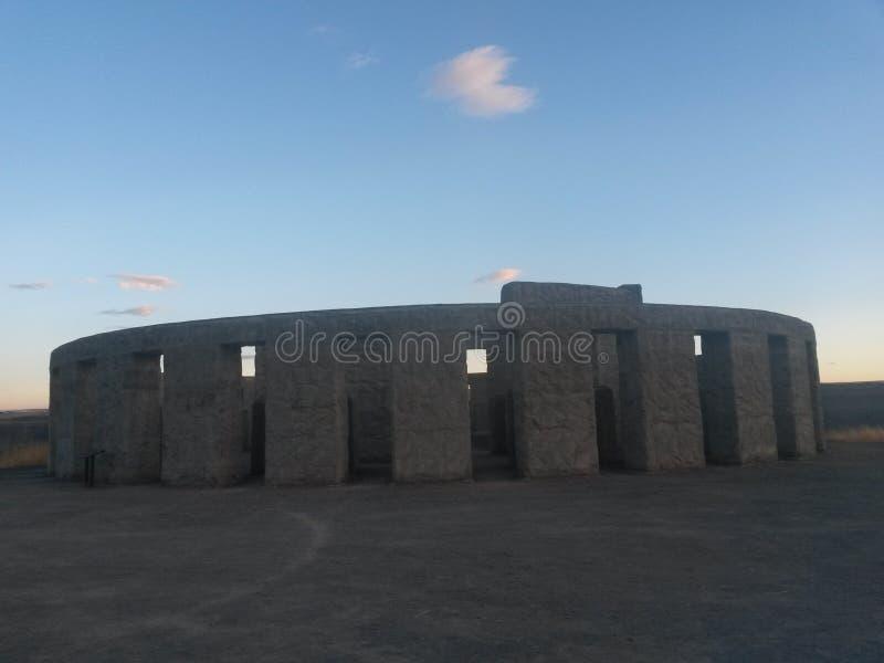 Stonehenge Washington images libres de droits
