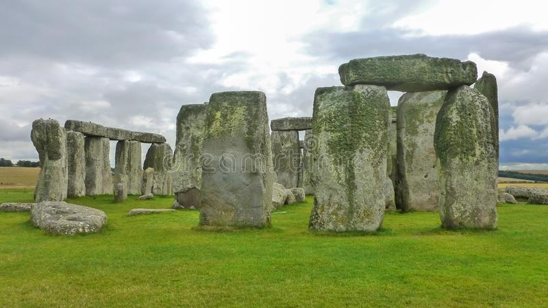 Stonehenge, WILTSHIRE, Royaume-Uni, Angleterre photos libres de droits