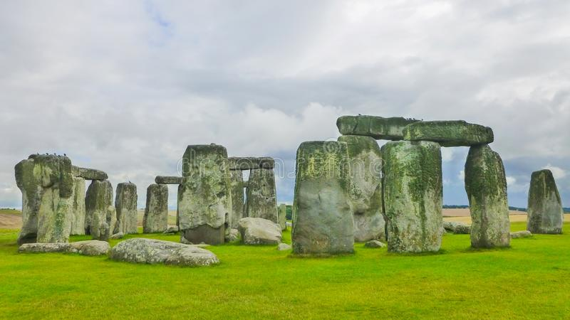 Stonehenge, Wiltshire, United Kingdom, England. stock photos