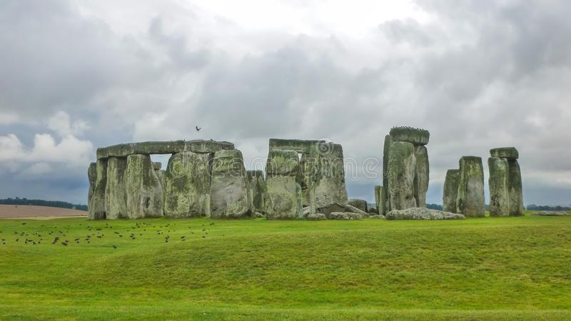 Stonehenge, Wiltshire, United Kingdom, England. stock images