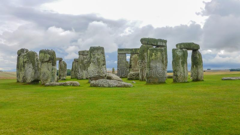 Stonehenge, Wiltshire, United Kingdom, England. royalty free stock photo