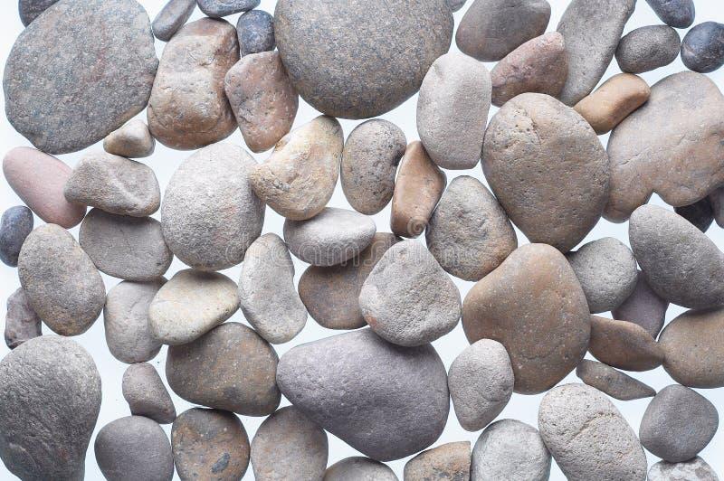 Stones. Isolated on white background royalty free stock images