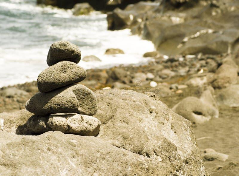 Download Stones stock image. Image of black, island, people, fumaroles - 14352421