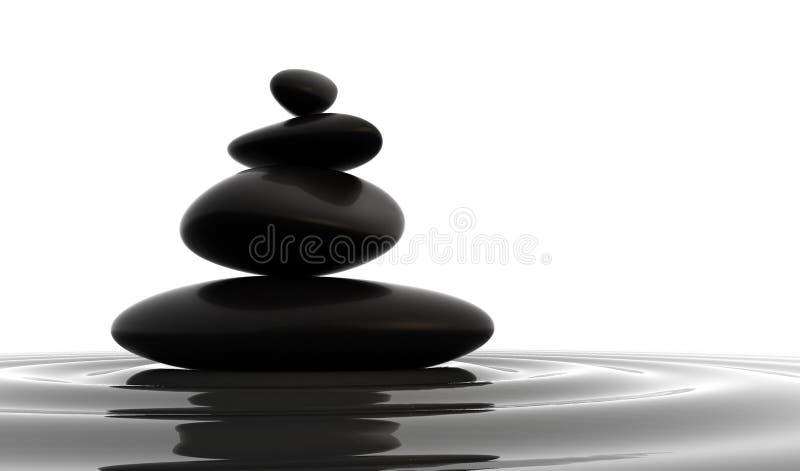 Download Stones Balance stock illustration. Illustration of rock - 22476203