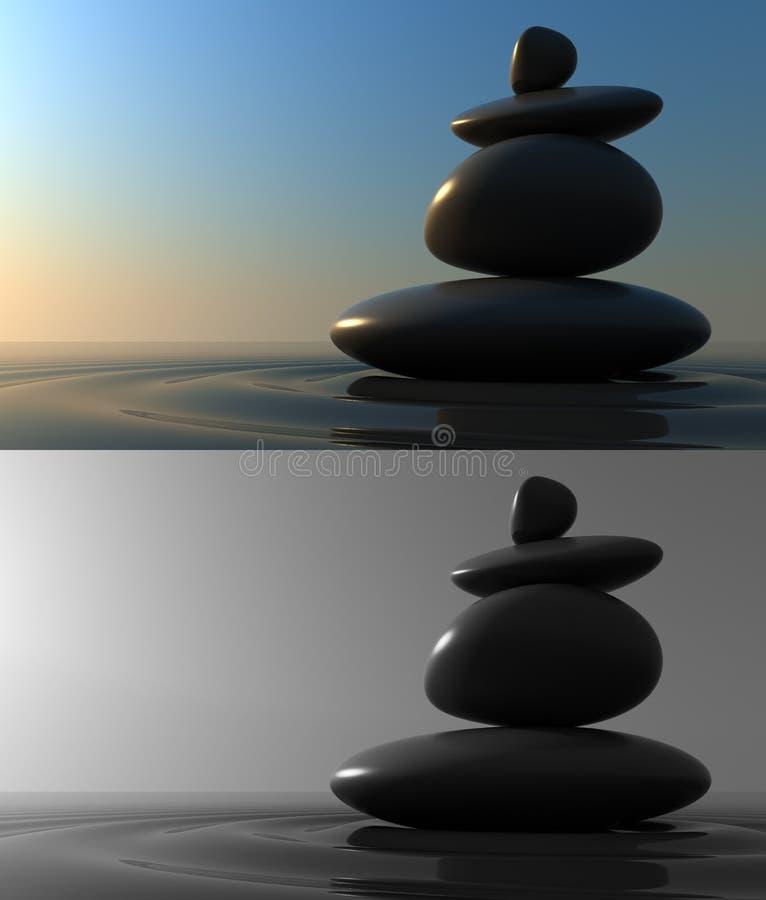 Stones Balance Stock Image
