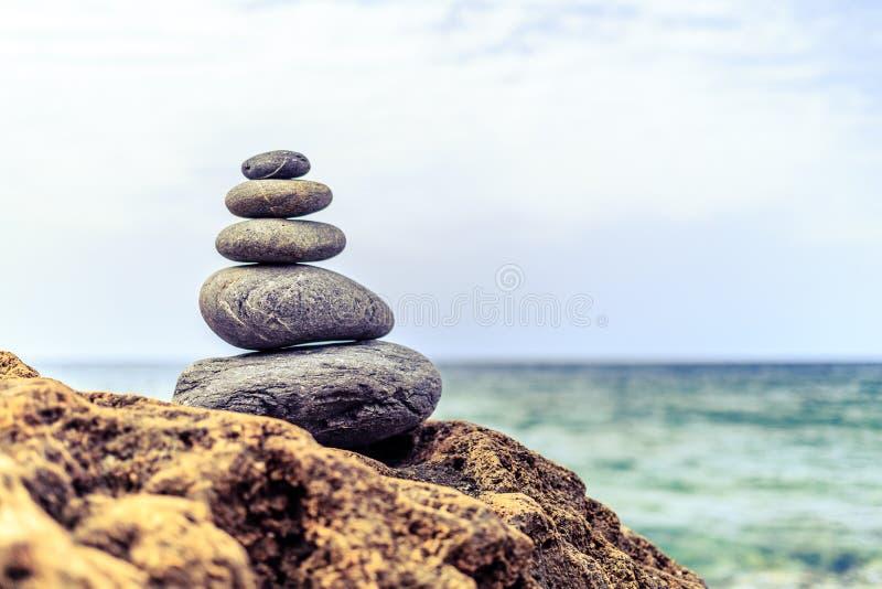 Stones balance inspiration wellness concept stock image