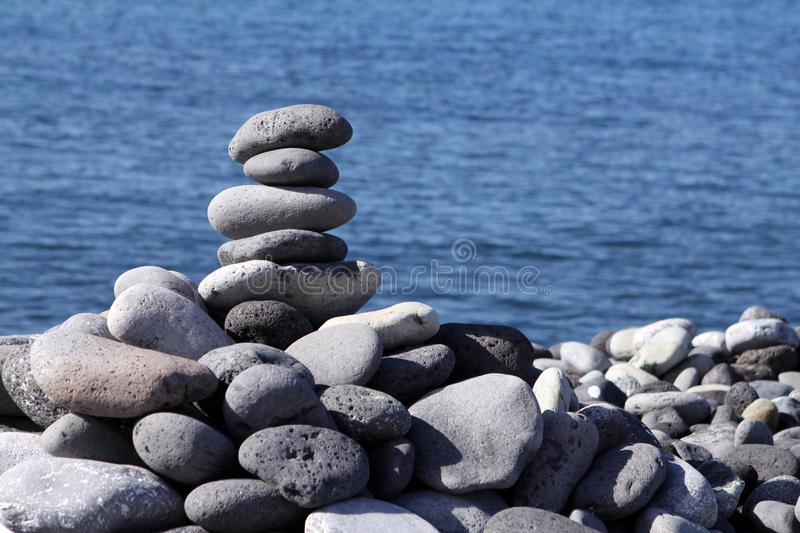 Download Stones in balance stock image. Image of copy, close, nature - 33756803