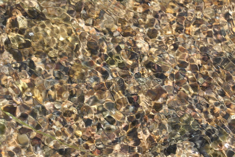 Download Stones On The Bottom Of The Creek Royalty Free Stock Photography - Image: 25699187