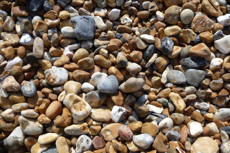 Download Stones On Brighton Beach stock photo. Image of background - 10195154