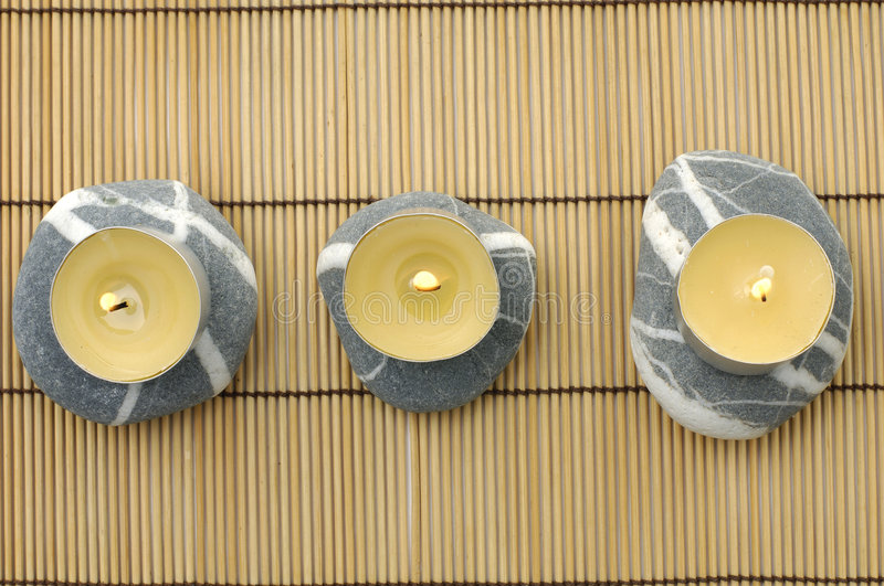 Download Stones and candle stock photo. Image of china, heal, pebble - 8401570