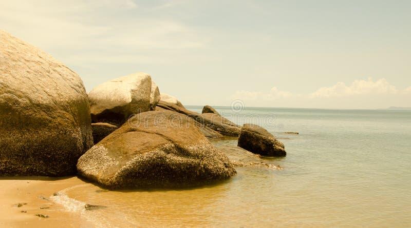 The Stones on the coast stock photos