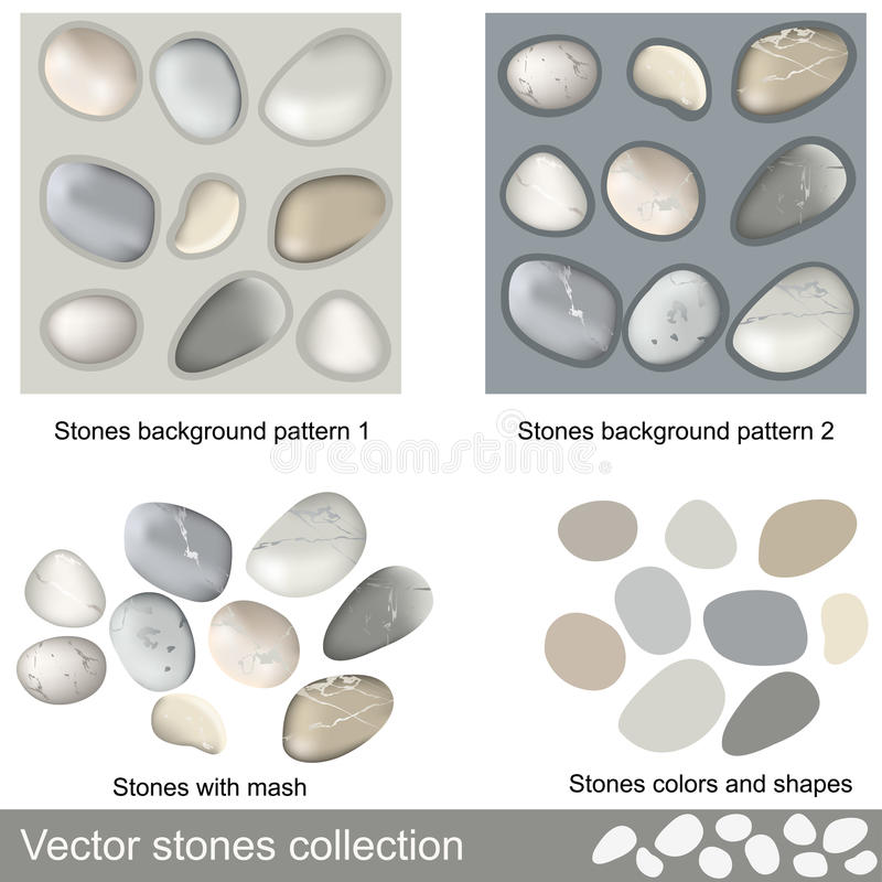 Download Stones Collection Stock Photo - Image: 24769190