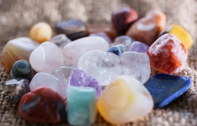 Stones gems royalty free stock images