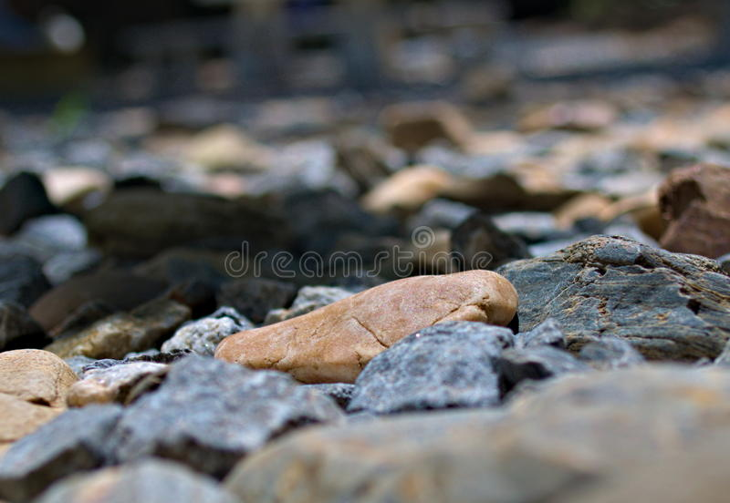 Stones on Ground royalty free stock photography