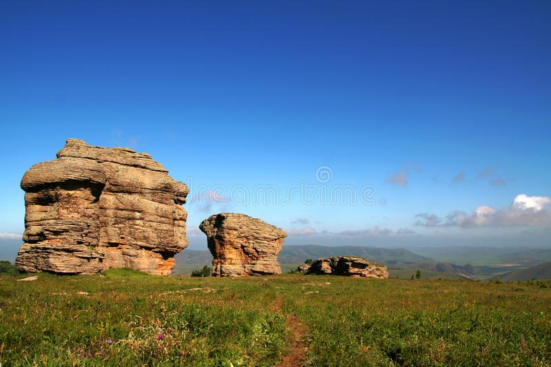 Stones of Hasituha Stone Forest royalty free stock photo