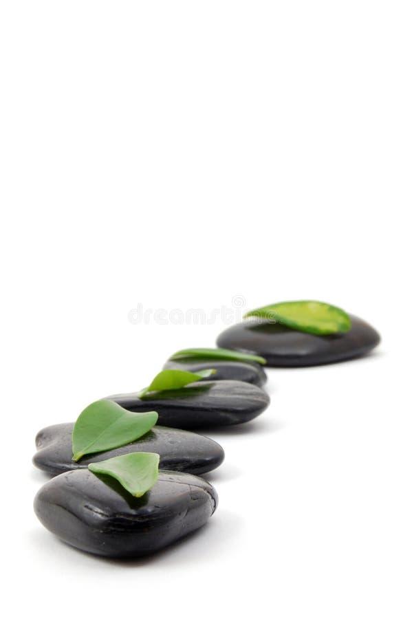 Stones Isolated On White Background Stock Images