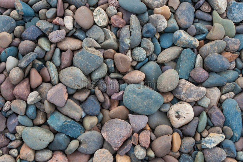Stones near a river stock photography