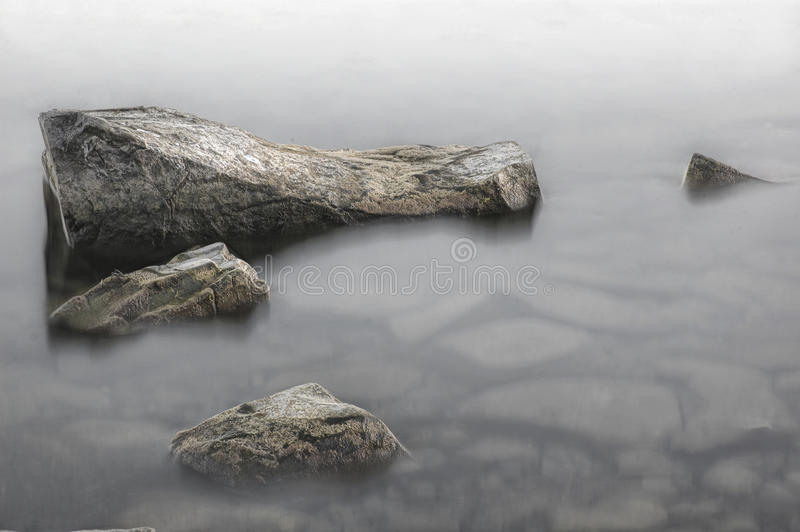 Download Stones near the shore stock image. Image of nobody, morning - 26502445