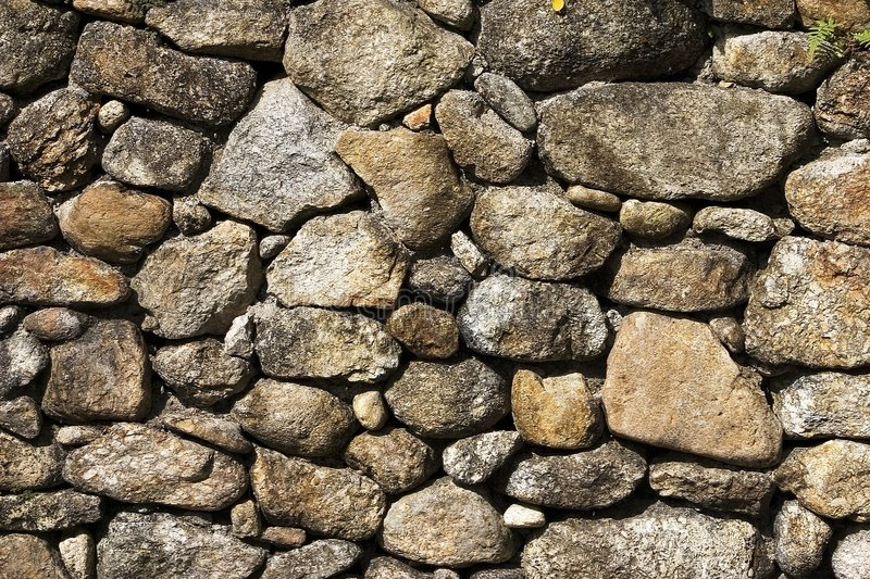 Stones Pattern. Close up stock photo