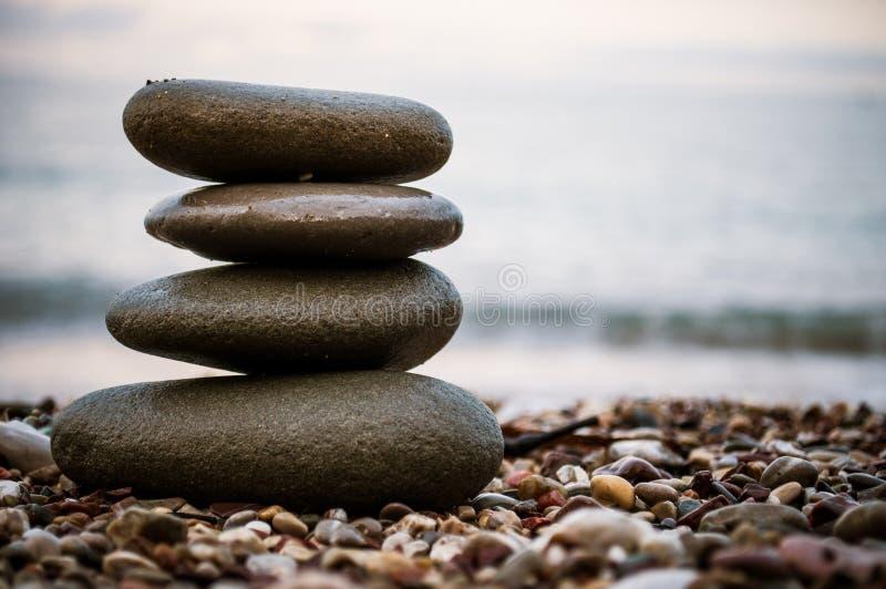 Stones relaxation stock photo