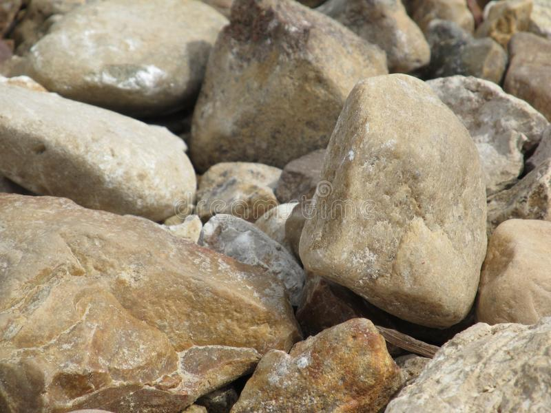 Stones on the road. Texture, are closen royalty free stock photo
