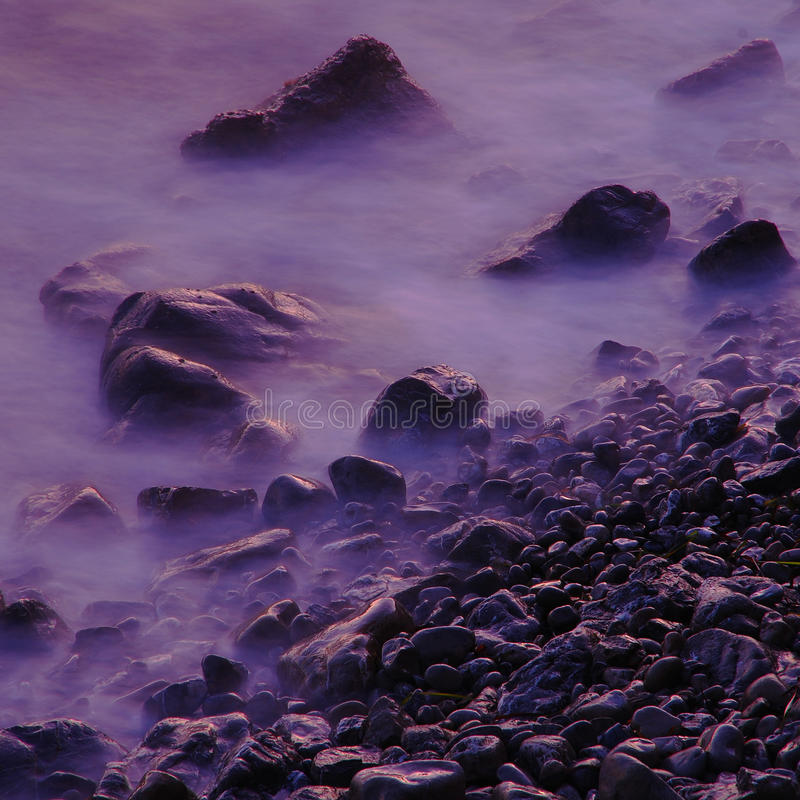 Stones on the sea royalty free stock photo