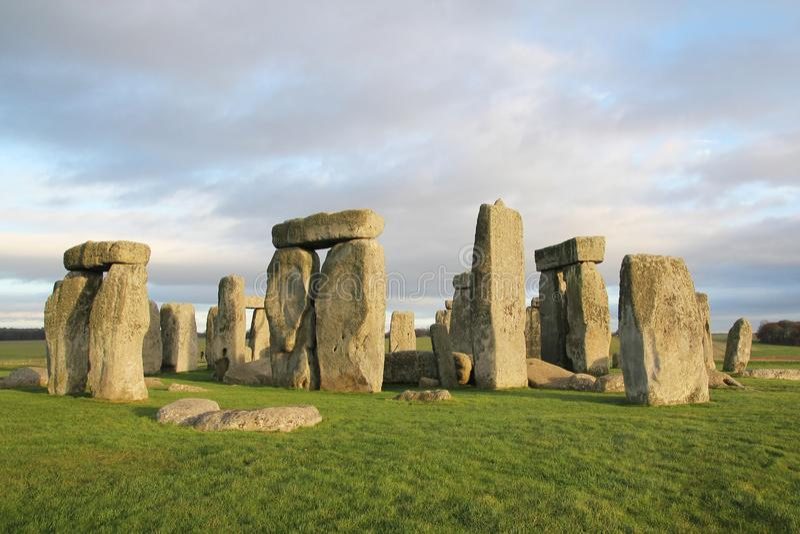 the stones of Stonehenge, England royalty free stock photos