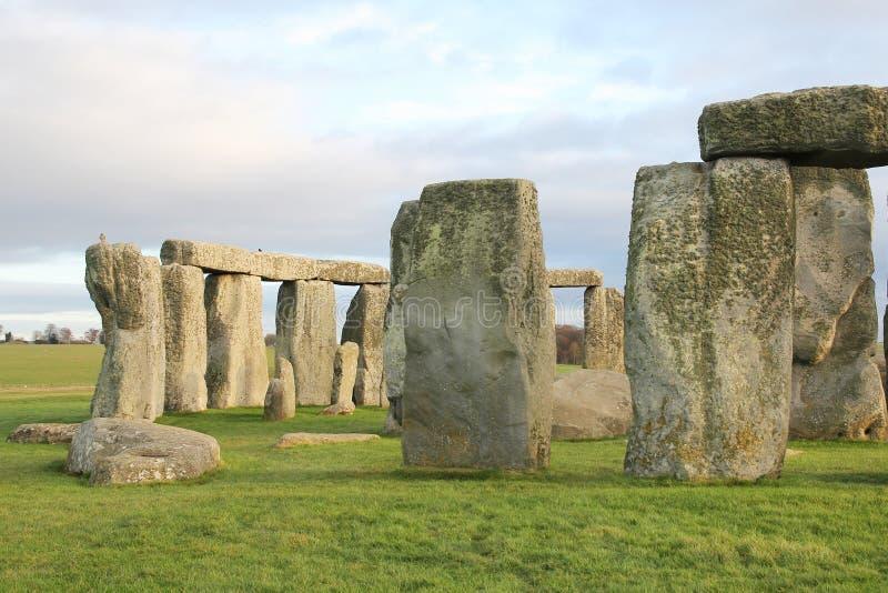the stones of Stonehenge, England royalty free stock photo