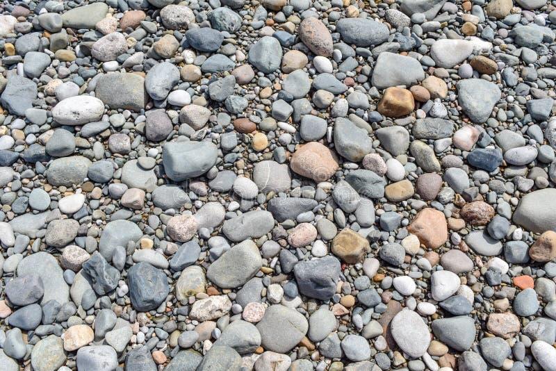 Stones texture, Background. stock image