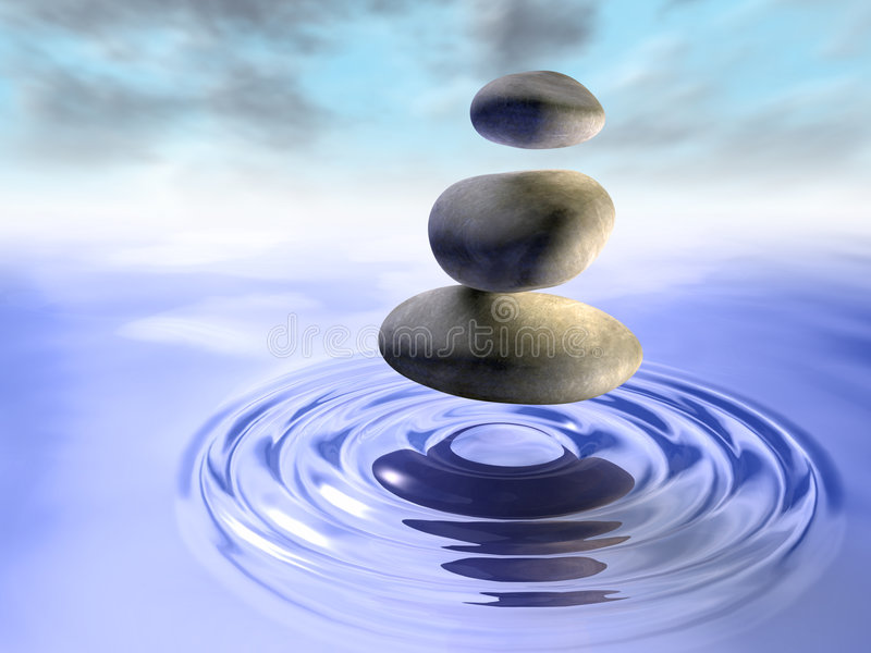Download Stones And Water Stock Photo - Image: 6613030