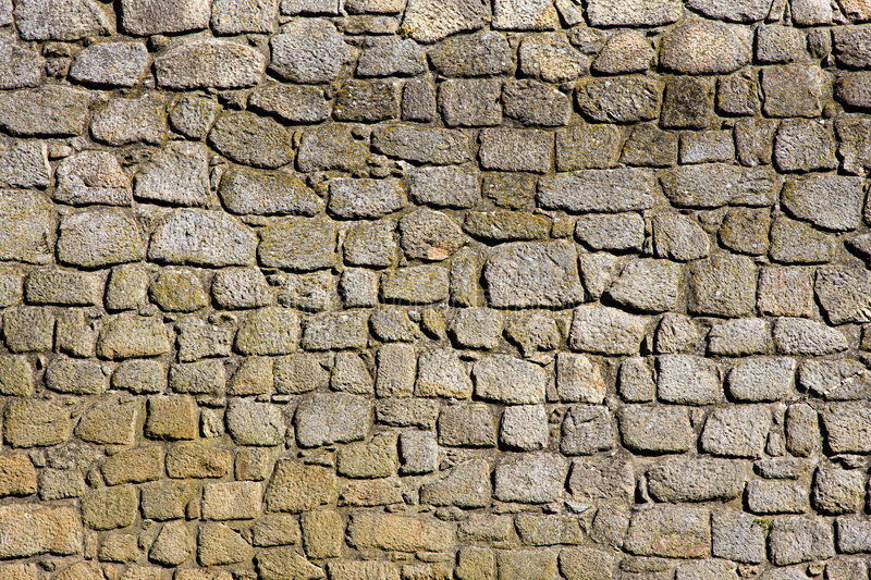 Stonewall Background from a Castle stock photography