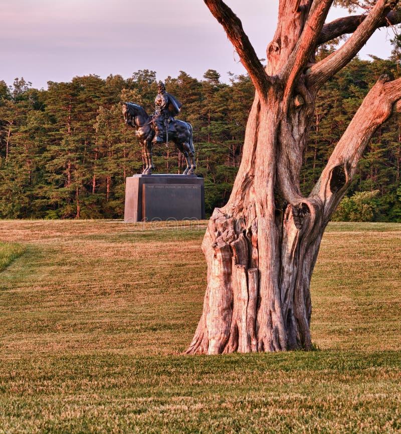Download Stonewall Jackson At Manassas Battlefield Stock Photo - Image: 19969482